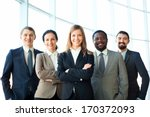 group of business partners... | Shutterstock . vector #170372093