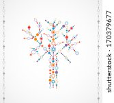 abstract background   tree... | Shutterstock .eps vector #170379677