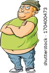 adolescence,annoying,boy,brat,cartoon,comic,concept,destruction,evil,fat,fear,funny,harass,humorous,illustration