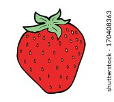 cartoon strawberry | Shutterstock . vector #170408363