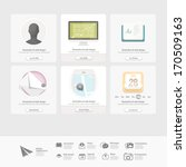 infographics design ui elements ...