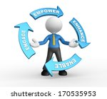 3d people   man  person with... | Shutterstock . vector #170535953