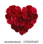 valentines day heart made of... | Shutterstock . vector #170539187