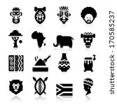 African Culture Icons