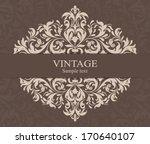 wedding invitation cards...   Shutterstock .eps vector #170640107