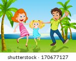 blue,boy,cartoon,child,coconut,couple,dance,dancers,daughter,daytime,drawing,family,father,female,gentleman