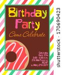 birthday party | Shutterstock .eps vector #170690423
