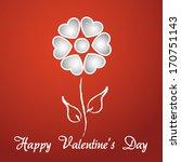 happy valentine's day lettering ...   Shutterstock .eps vector #170751143
