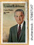 usa  circa 1973  postage stamp... | Shutterstock . vector #170807147