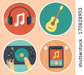 Vector Music Icons And Signs I...
