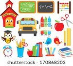 back to school | Shutterstock .eps vector #170868203