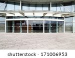 facade of modern business... | Shutterstock . vector #171006953