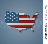united states  eps10 vector | Shutterstock .eps vector #171180743