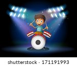 art,artist,artistic,artwork,boy,bright,brightness,bulb,cartoon,center,centerstage,child,colorful,design,drawing