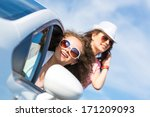 young attractive woman in... | Shutterstock . vector #171209093