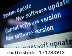 system update software... | Shutterstock . vector #171283913