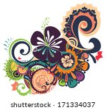 designed ornament isolated on...