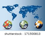 users share information | Shutterstock .eps vector #171500813