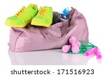 sports bag with sports... | Shutterstock . vector #171516923
