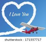 Flirten vliegtuig