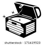 treasure chest icon | Shutterstock .eps vector #171619523