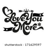 happy valentine's day  ... | Shutterstock .eps vector #171629597