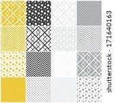 Set Of 16 Seamless Patterns...