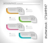 business infographics elements. ... | Shutterstock .eps vector #171649547