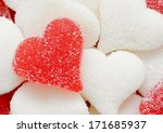 Close Up Of Sugared Candy...