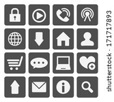 internet icon | Shutterstock .eps vector #171717893