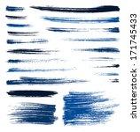 set of vector blue quality...   Shutterstock .eps vector #171745433