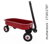 Little Child's Toy Wagon