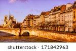 Beautiful Paris In The Golden...