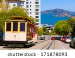 san francisco hyde street cable ...   Shutterstock . vector #171878093