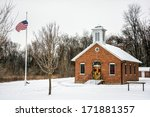 A One Room School House With...