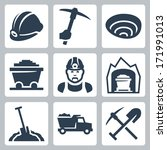 buggy,car,carbon,cart,coal,dump,dumper,equipment,hand,hardhat,helmet,icon,industrial,industry,lamp