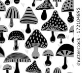 vector seamless pattern with... | Shutterstock .eps vector #172104893