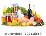 composition with variety of... | Shutterstock . vector #172118867