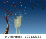 sparkling invitation background ... | Shutterstock .eps vector #172133183