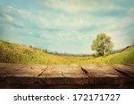 spring green background. grass... | Shutterstock . vector #172171727
