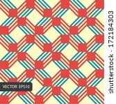retro pattern for making... | Shutterstock .eps vector #172184303