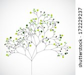 abstract tree. ecology... | Shutterstock .eps vector #172229237