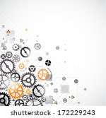 abstract technology background. ... | Shutterstock .eps vector #172229243