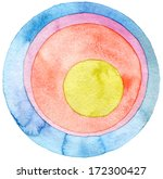 abstract circle watercolor...   Shutterstock . vector #172300427