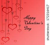happy valentine    s day | Shutterstock . vector #172316417