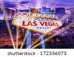 las vegas showtime concept.... | Shutterstock . vector #172336073