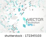 simple geometric pattern.... | Shutterstock .eps vector #172345103