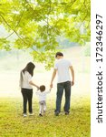 happy asian family outdoor...   Shutterstock . vector #172346297