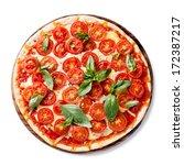 Italian Pizza With Cherry...