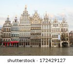 Grote Markt Square In Old Tow...
